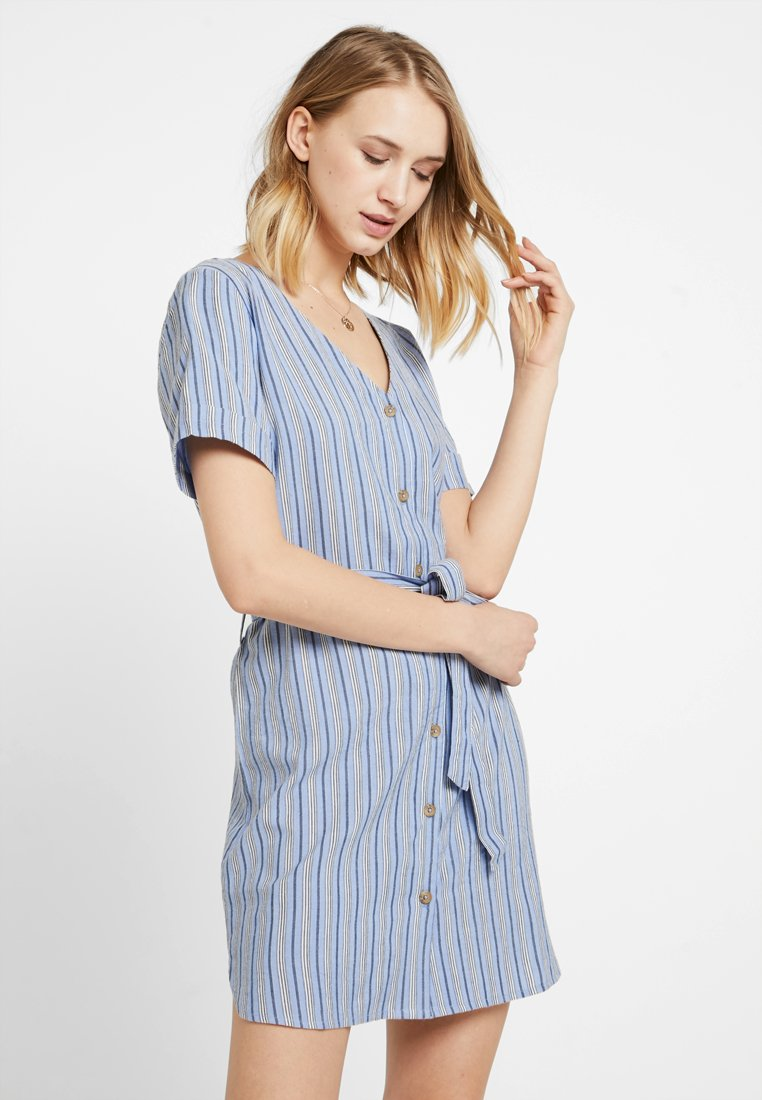 TWINTIP - Robe chemise - blue