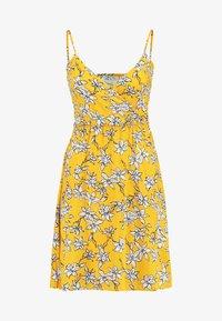 TWINTIP - Robe d'été - yellow - 3