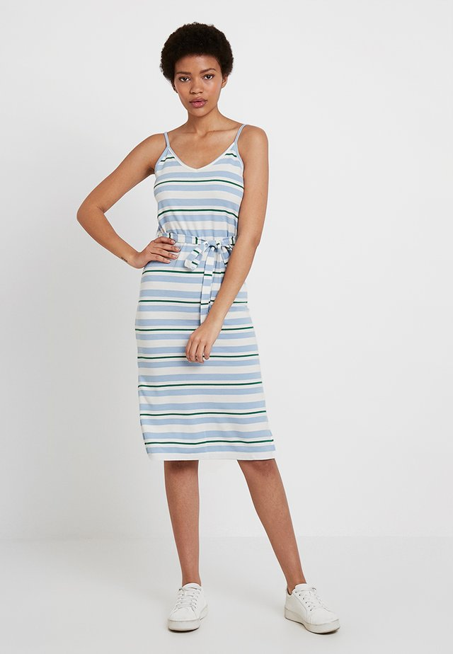 Vestito di maglina - white/blue