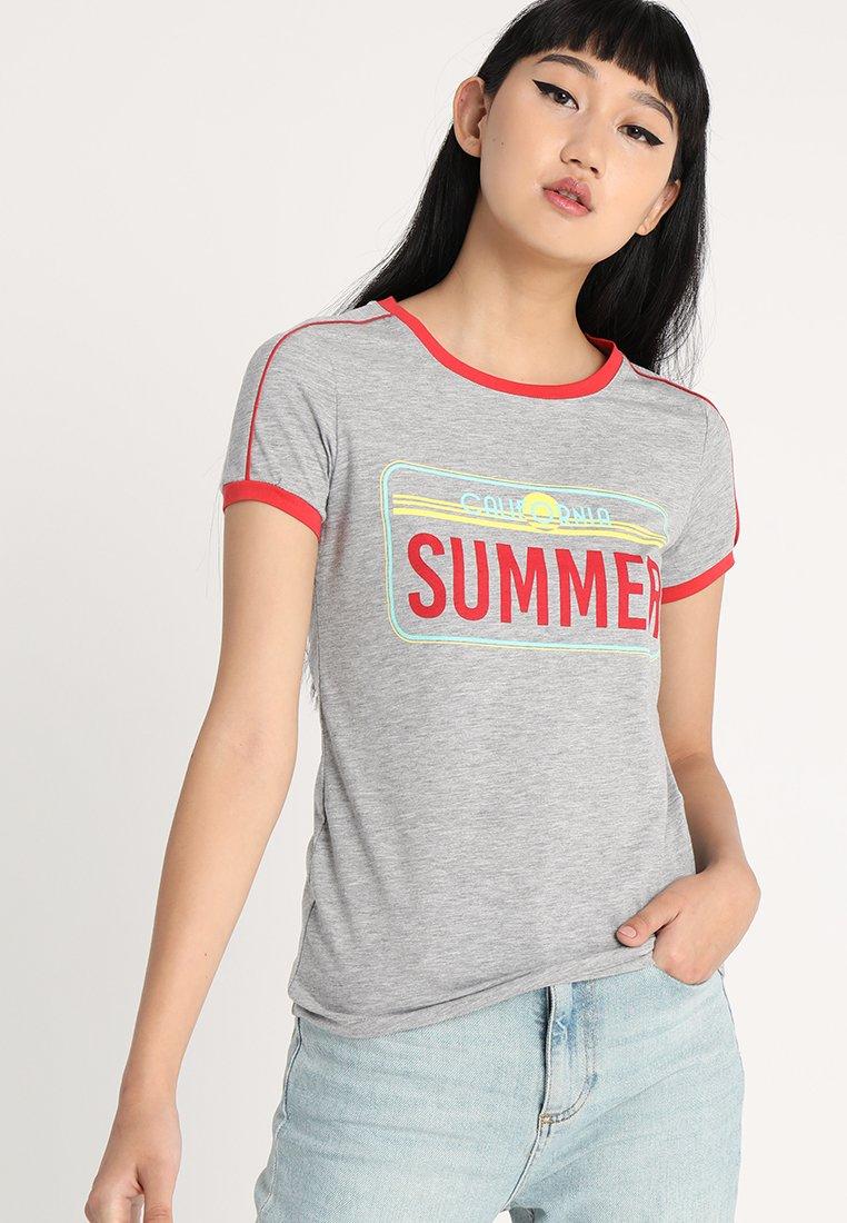 TWINTIP - T-Shirt print - grey melange