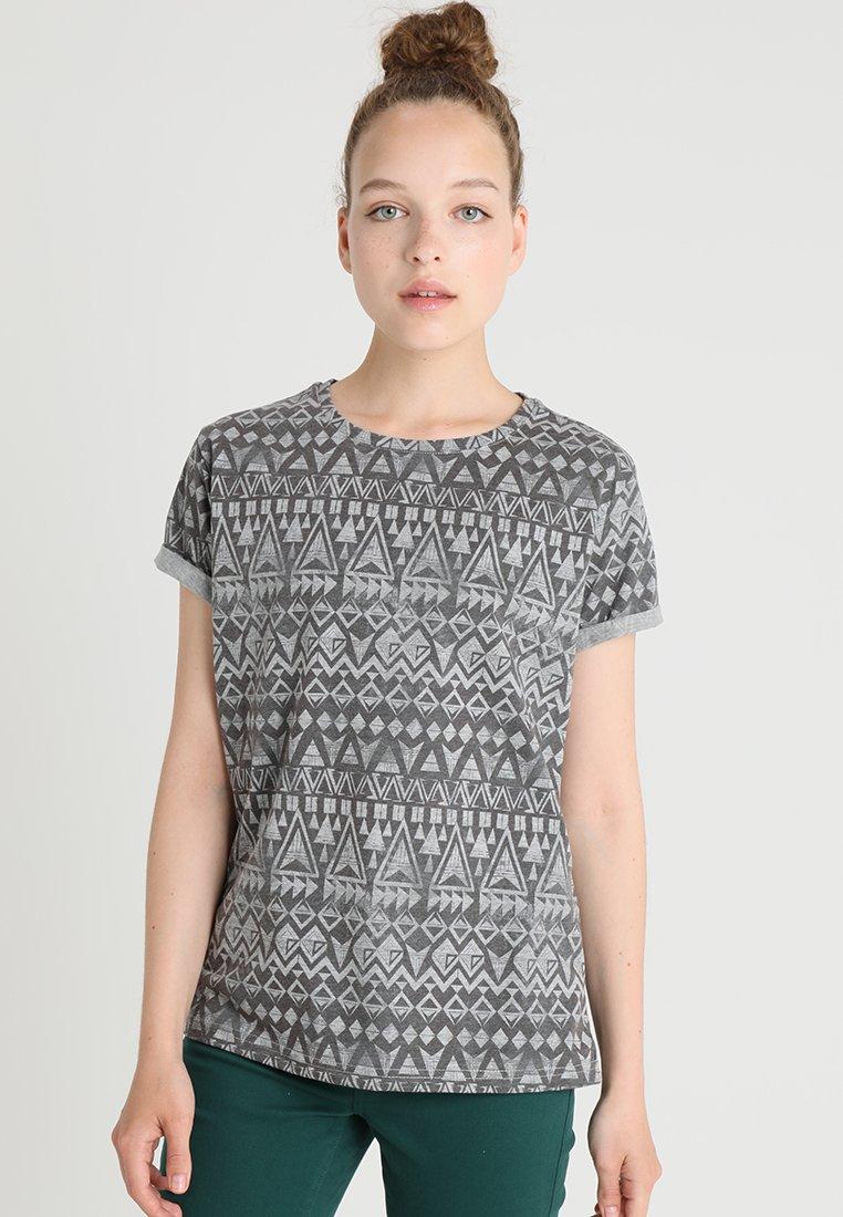 TWINTIP - T-Shirt print - grey/black