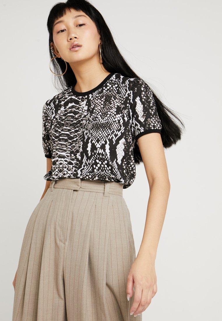 TWINTIP - Print T-shirt - grey
