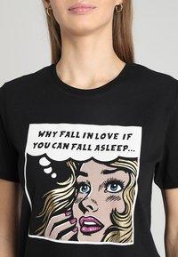 TWINTIP - Print T-shirt - black - 4