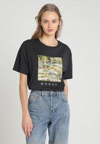 TWINTIP - T-shirts print - dark grey - 0