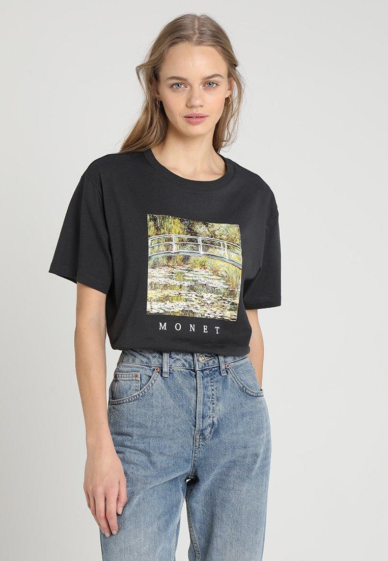 TWINTIP - Print T-shirt - dark grey