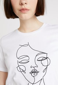 TWINTIP - T-shirts med print - white - 5