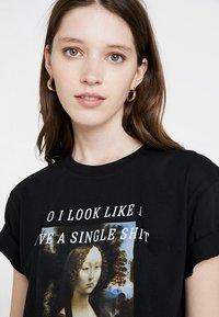 TWINTIP - Print T-shirt - black - 3
