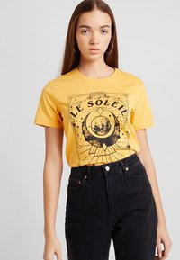 TWINTIP - T-shirt med print - yellow - 0
