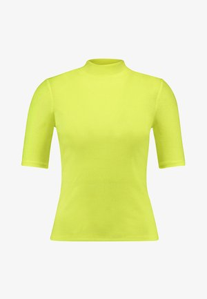 T-shirts med print - neon yellow