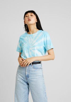 T-shirt imprimé - white/blue