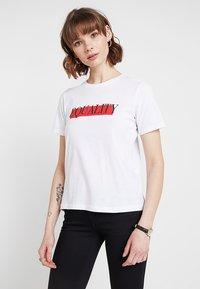 TWINTIP - T-shirt print - white - 0