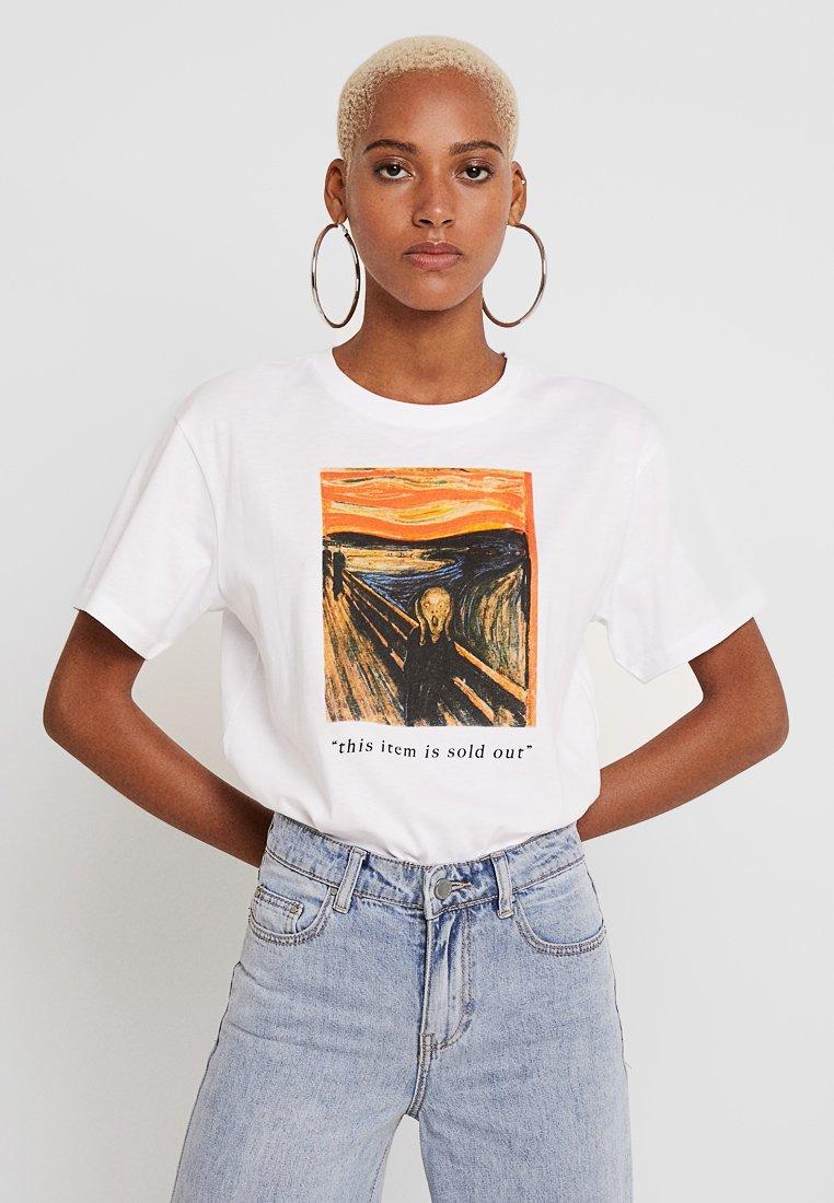 TWINTIP - T-Shirt print - white