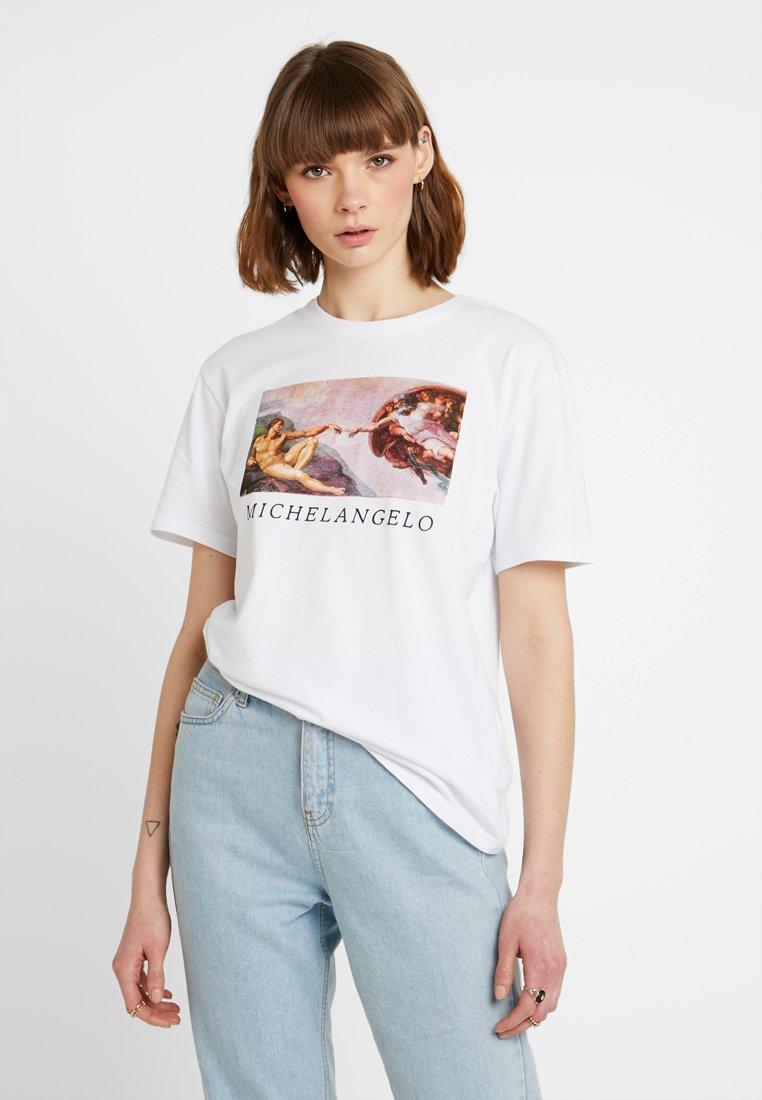 TWINTIP - Print T-shirt - white