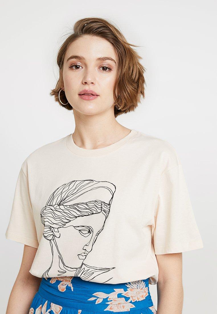 TWINTIP - T-shirts print - beige