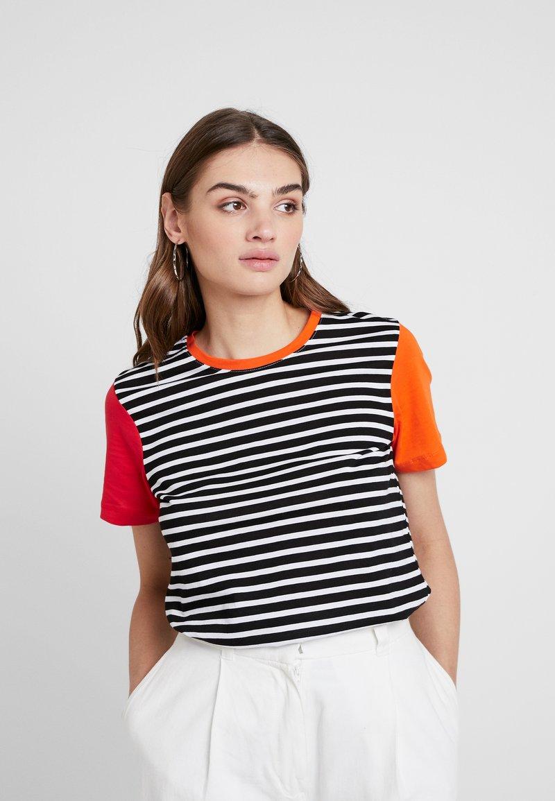 TWINTIP - T-Shirt print - orange/pink