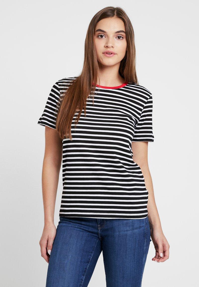 TWINTIP - T-Shirt print - white/red/black