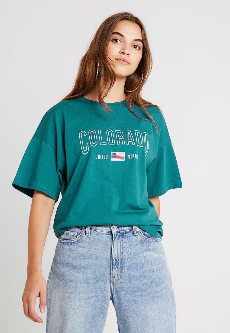 TWINTIP - T-shirts print - dark green