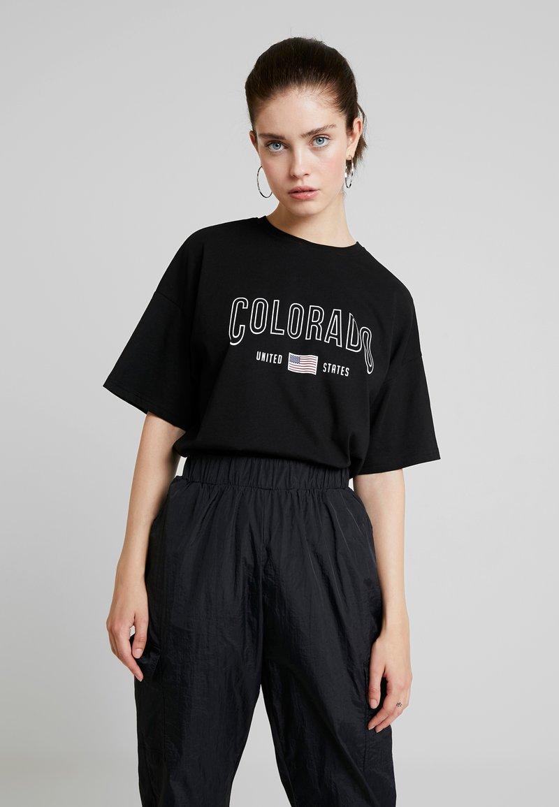 TWINTIP - T-shirts print - black