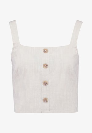 SQUARE NECK  - Top - oatmeal