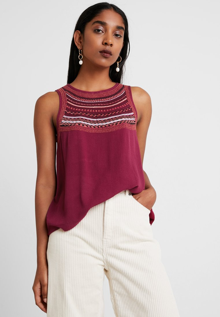 TWINTIP - Bluse - red