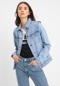 TWINTIP - Denim jacket - vintage blue denim - 0