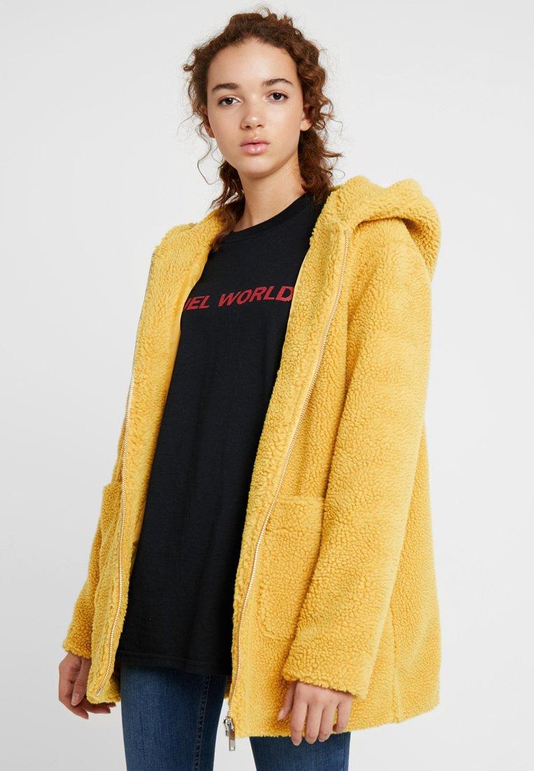 TWINTIP - Zimní kabát - mustard yellow