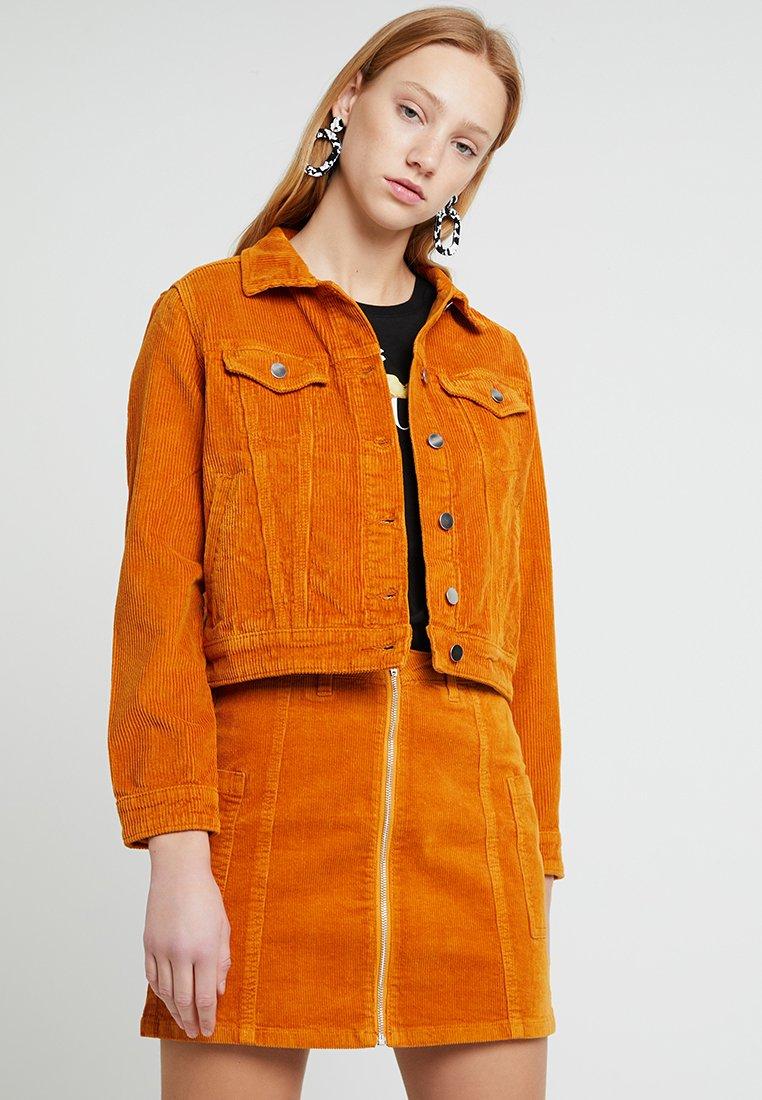 TWINTIP - Denim jacket - mustard