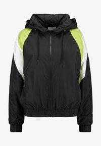 TWINTIP - Treningsjakke - black/turquoise - 3