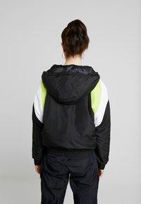 TWINTIP - Treningsjakke - black/turquoise - 2