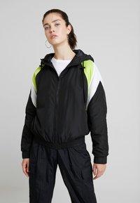 TWINTIP - Treningsjakke - black/turquoise - 0