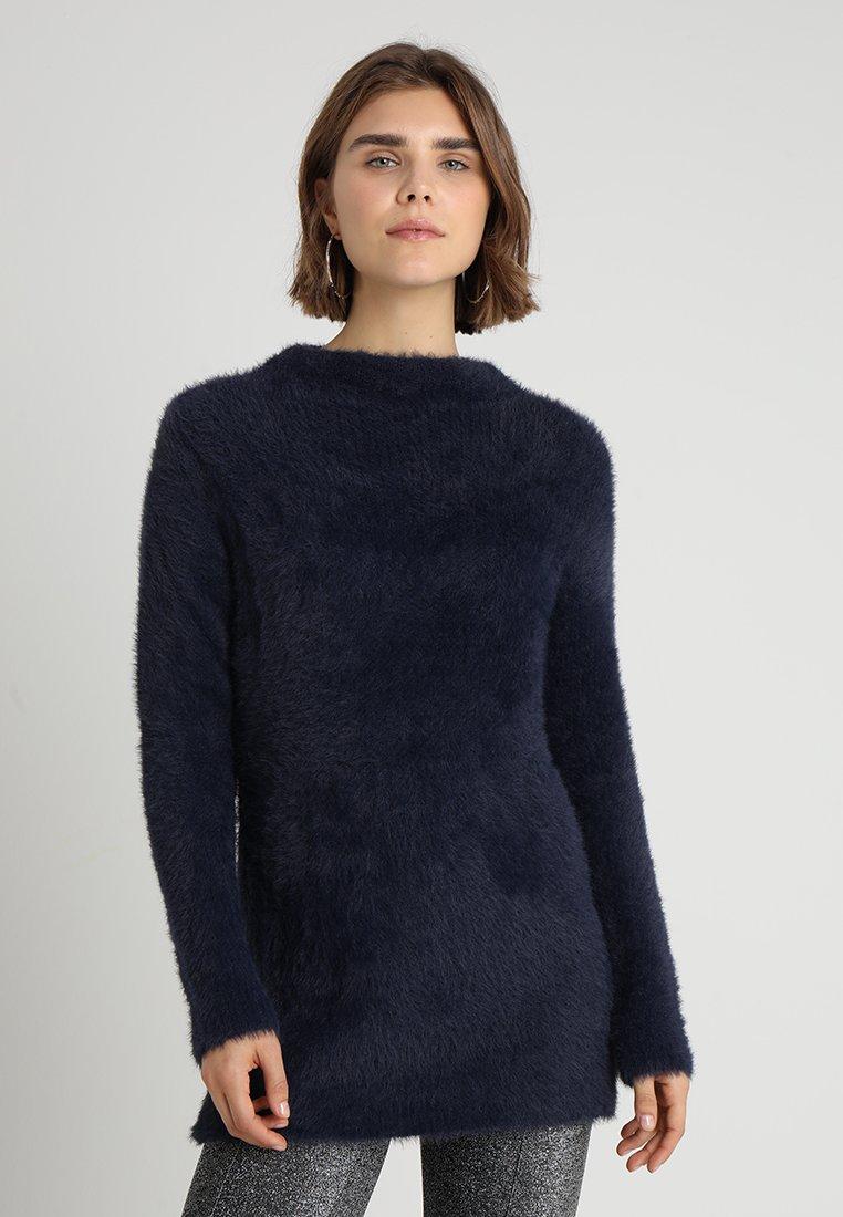 TWINTIP PLAIN FUZZY JUMPER - Pullover dark blue