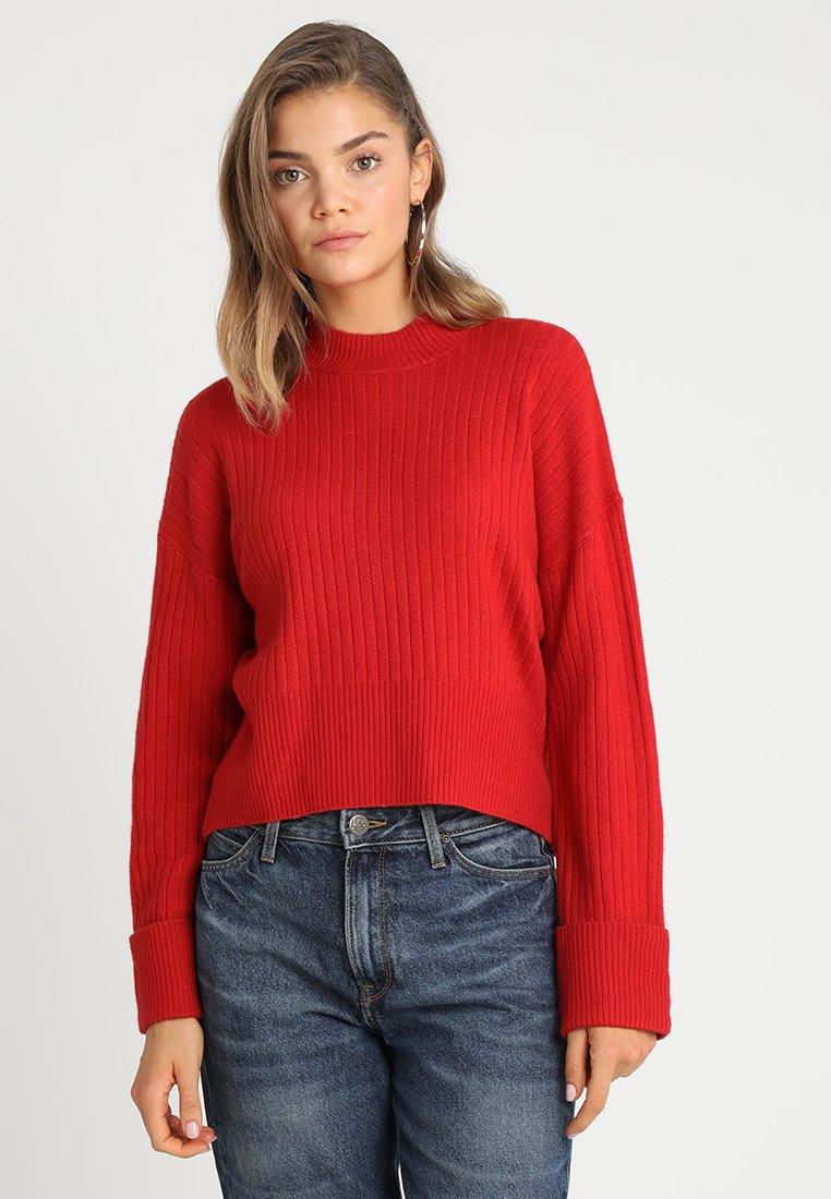 TWINTIP - Strickpullover - red