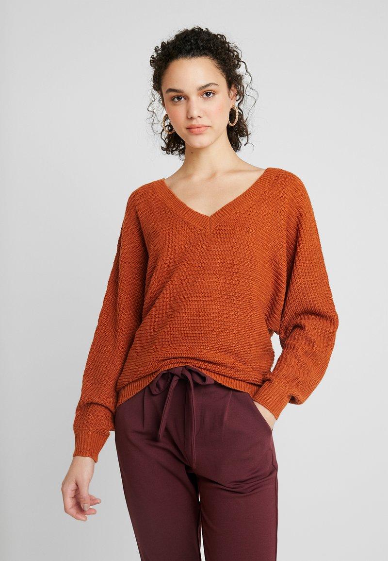 TWINTIP - Strickpullover - brown