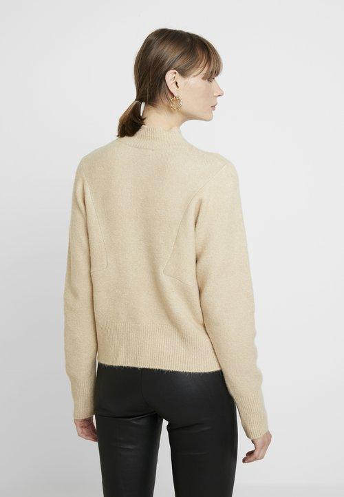 TWINTIP Sweter - sand Odzież Damska MPNU-TF9 30% OBNIŻONE