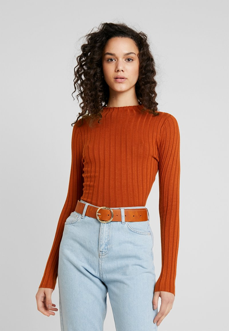 TWINTIP - Strickpullover - brown