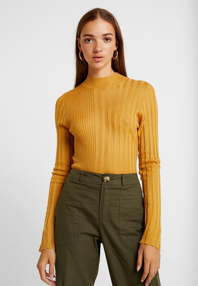 Sweter - ochre