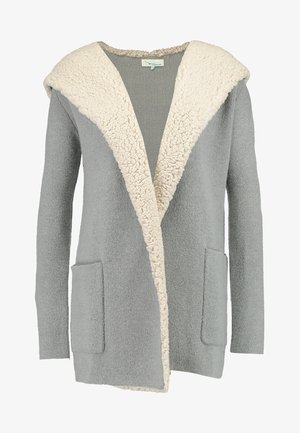 Cardigan - mottled grey