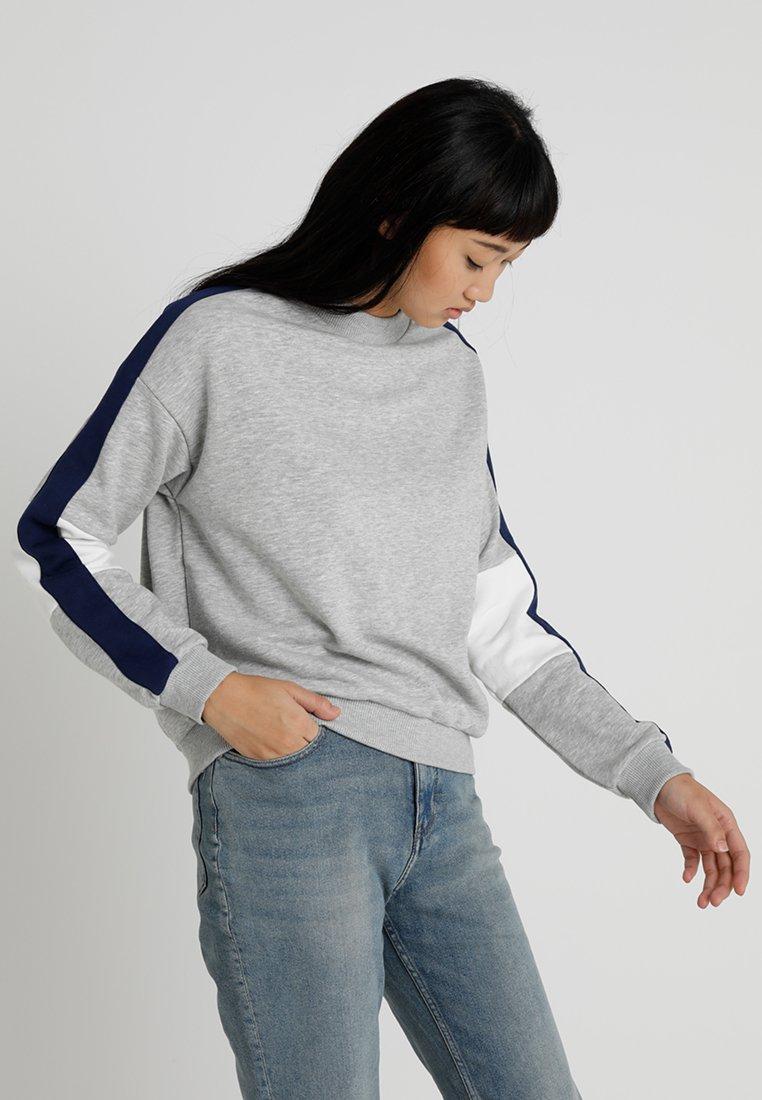 TWINTIP - Sweatshirt - mottled light grey
