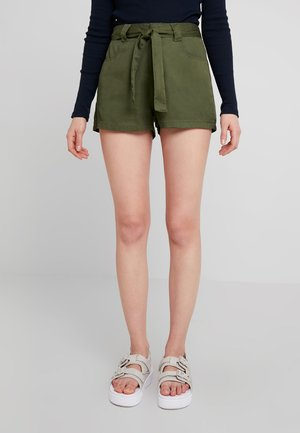 Shorts - warm olive