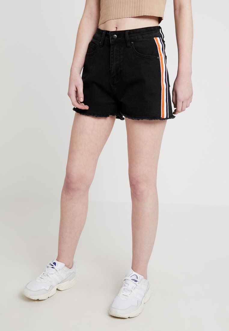 TWINTIP - Jeans Shorts -  black