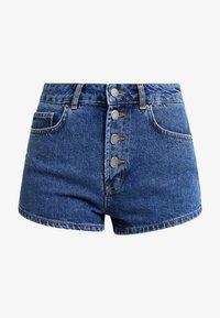 TWINTIP - Shorts vaqueros - dark-blue denim - 3