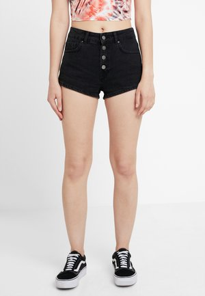Jeans Short / cowboy shorts - washed black