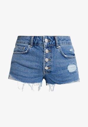 Jeans Shorts - dark-blue denim