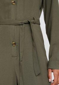 TWINTIP - Overall / Jumpsuit /Buksedragter - khaki - 4