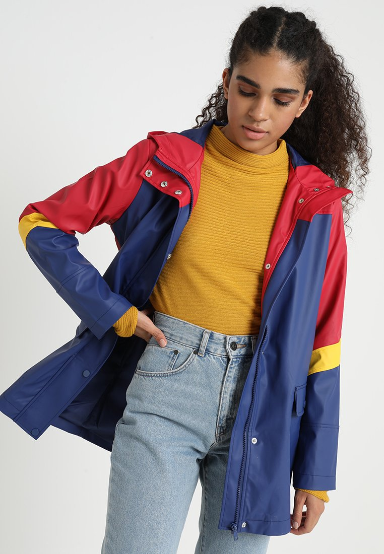 TWINTIP - Regenjacke / wasserabweisende Jacke - red/dark blue