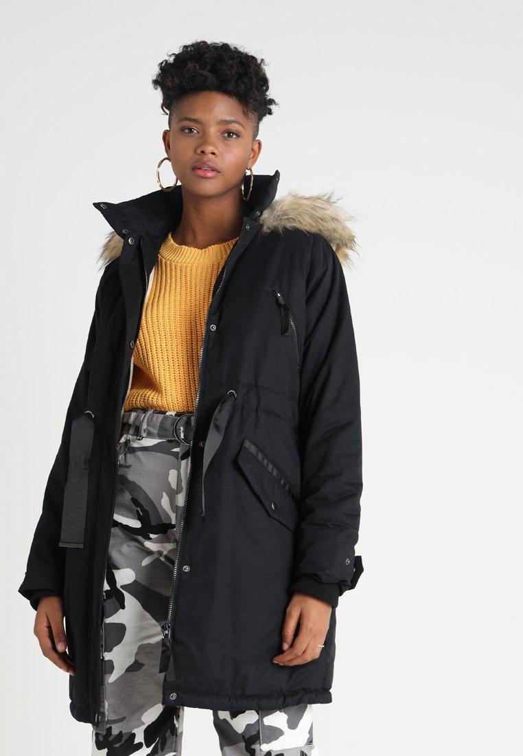 TWINTIP - Zimní kabát - black