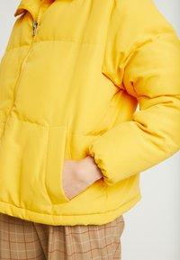 TWINTIP - Light jacket - mustard yellow - 3