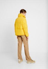 TWINTIP - Light jacket - mustard yellow - 2