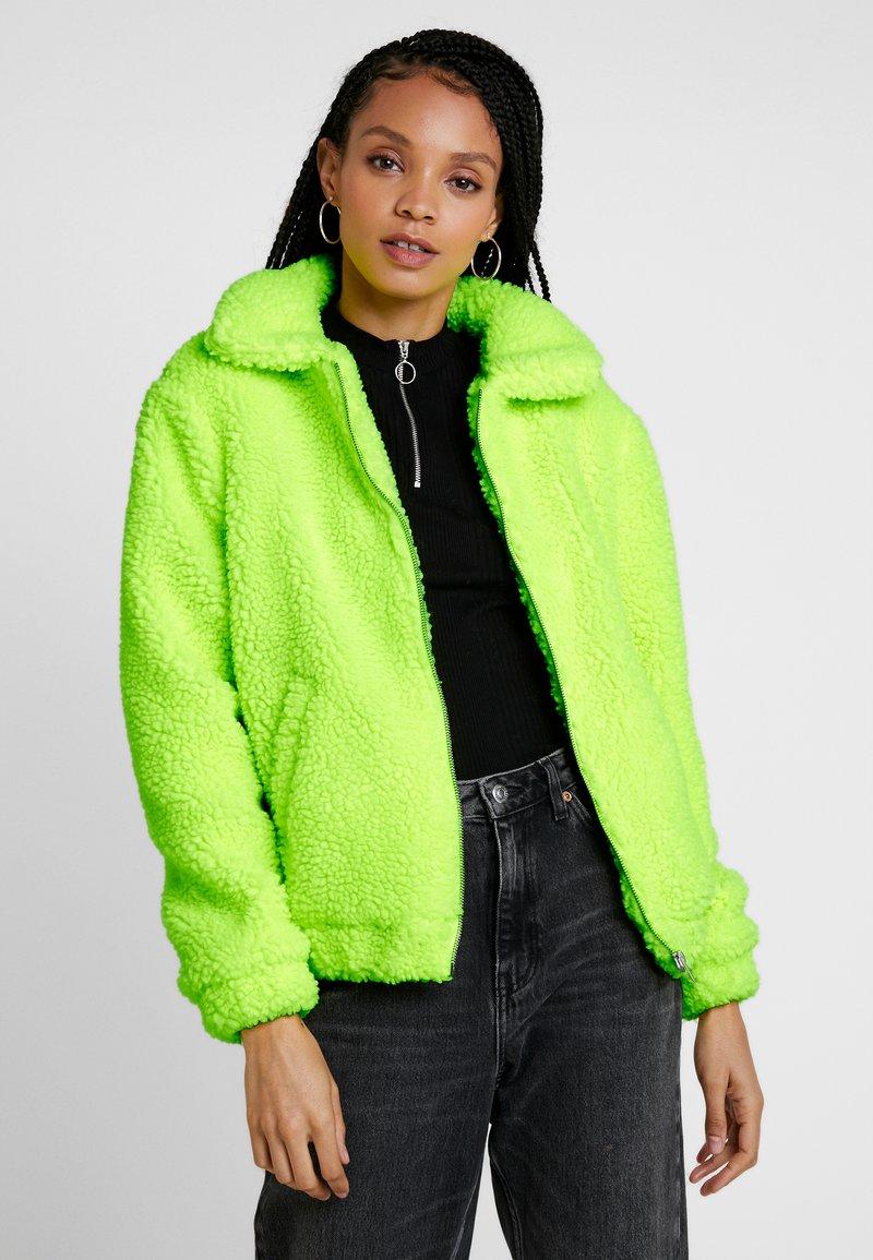 TWINTIP - Zimní bunda - neon yellow