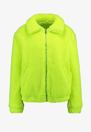 Zimní bunda - neon yellow